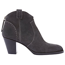 Buy Mint Velvet Hazel Block Heeled Ankle Boots Online at johnlewis.com