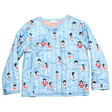 Buy Margherita Kids Girls' Geisha Quilted Jacket, Angel Falls Online at johnlewis.com