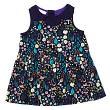 Buy Margherita Kids Baby Floral Print Dress, Navy/Multi Online at johnlewis.com