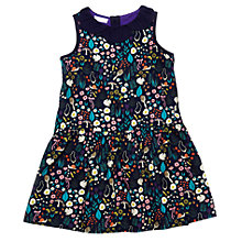 Buy Margherita Kids Girls' Daisy Collar Dress, Blue Online at johnlewis.com