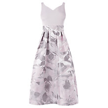 Buy Coast Alessia Jacquard Dress, Pink/Blush Online at johnlewis.com
