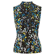 Buy Karen Millen Ditsy Floral Print Top, Multi Online at johnlewis.com