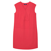 Buy Violeta by Mango Flowy Dress, Dark Red Online at johnlewis.com