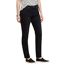 Buy Violeta by Mango Slim-Fit Susan Jeans, Open Grey Online at johnlewis.com