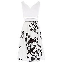 Buy Coast Octavia Burnout Dress, Mono Online at johnlewis.com