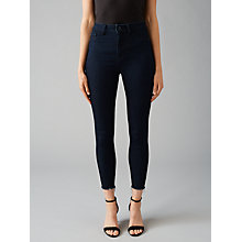 Buy DL1961 Jessica Alba Exclusive Trimtone Skinny Ankle Jeans, Sunrise Online at johnlewis.com