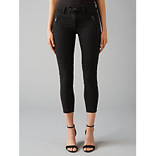 Buy DL1961 Jessica Alba Exclusive Instasculpt Cropped Moto Jeans, Mirage Online at johnlewis.com