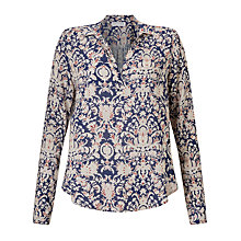 Buy Velvet Leonie Blouse, Aurora Online at johnlewis.com