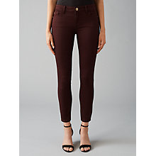 Buy DL1961 Margaux Ankle Skinny Jeans, Sangria Online at johnlewis.com