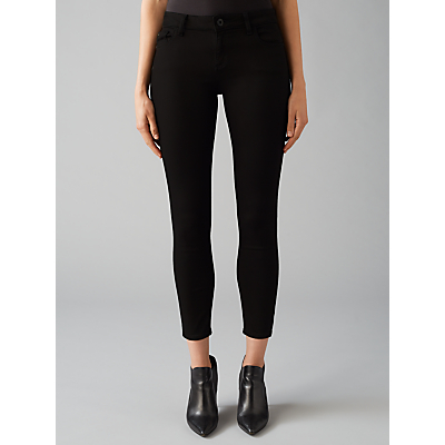 DL1961 Margaux Ankle Skinny Jeans, Hail