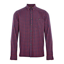 Buy HYMN Vaynor Brushed Check Shirt Online at johnlewis.com