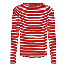 Buy HYMN Farwell Long Sleeve Stripe T-Shirt Online at johnlewis.com