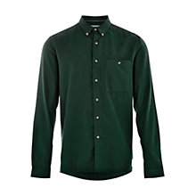 Buy HYMN Piranha One Pocket Brushed Shirt, Green Online at johnlewis.com