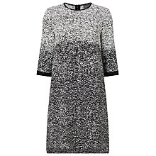 Buy Phase Eight Harper Degrade Dress, Ivory/Black Online at johnlewis.com