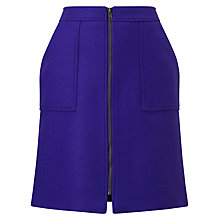 Buy Phase Eight Dillon Wool Blend Skirt, Cobalt Online at johnlewis.com