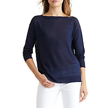 Buy Lauren Ralph Lauren Vaska Jumper, Authentic Navy Online at johnlewis.com