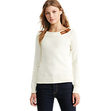 Buy Lauren Ralph Lauren Shaela Buckle Jumper Online at johnlewis.com