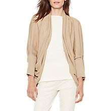 Buy Lauren Ralph Lauren Amaline Open Front Cardigan, Burlap Tan Online at johnlewis.com