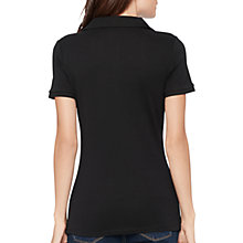 Buy Lauren Ralph Lauren Cora Polo Shirt, Black Online at johnlewis.com