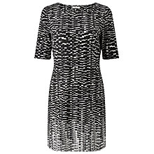 Buy Precis Petite Emy Printed Tunic Dress, Black Online at johnlewis.com