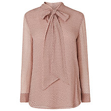 Buy L.K. Bennett Harriet Printed Pussybow Blouse Online at johnlewis.com