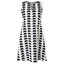 Buy Studio 8 Bryn Dress, White/Black Online at johnlewis.com