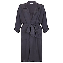 Buy Ghost Sera Trench Coat, Charcoal Online at johnlewis.com