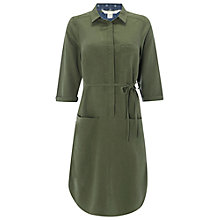 Buy White Stuff Utility Shirt Dress, Light Spinach Green Online at johnlewis.com