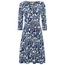 Buy White Stuff Fauna Jersey Dress, Mount Blue Online at johnlewis.com