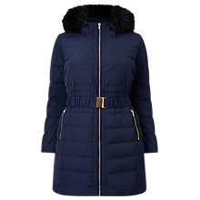Buy Studio 8 Lucy Puffer Coat, Navy Online at johnlewis.com
