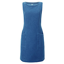 Buy White Stuff Pinny Sleeveless Jersey Dress, Denim Online at johnlewis.com