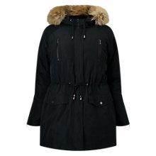 Buy Studio 8 Naomi Parka Coat, Pine Online at johnlewis.com