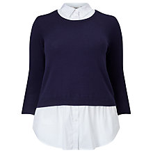 Buy Studio 8 Farrah Jumper, Navy Online at johnlewis.com