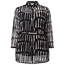 Buy Studio 8 Bessie Blouse, Black/Stone Online at johnlewis.com