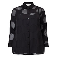 Buy Studio 8 Lisa Jayne Blouse, Black Online at johnlewis.com