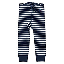 Buy Polarn O. Pyret Baby Striped Long Johns, Blue Online at johnlewis.com