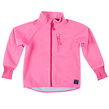 Buy Polarn O. Pyret Girls' Outdoor Fleece, Pink Online at johnlewis.com