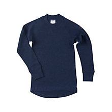 Buy Polarn O. Pyret Childrens' Merino Top, Blue Online at johnlewis.com