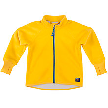 Buy Polarn O. Pyret Baby Fleece Jacket, Yellow Online at johnlewis.com