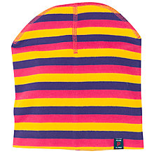 Buy Polarn O. Pyret Childrens' Striped Hat Online at johnlewis.com