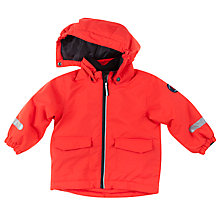 Buy Polarn O. Pyret Baby Padded Coat, Red Online at johnlewis.com
