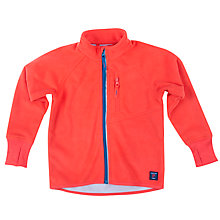 Buy Polarn O. Pyret Children's Fleece Jacket, Red Online at johnlewis.com