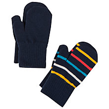 Buy Polarn O. Pyret Baby Mittens, Pack of 2, Blue Online at johnlewis.com