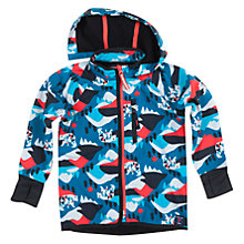 Buy Polarn O. Pyret Childrens' Alpine Shell Coat, Blue Online at johnlewis.com