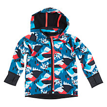 Buy Polarn O. Pyret Baby Alpine Shell Coat, Blue Online at johnlewis.com