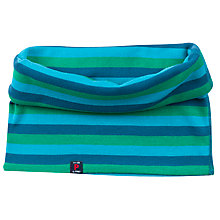 Buy Polarn O. Pyret Baby Stripe Neck Warmer, Blue Online at johnlewis.com
