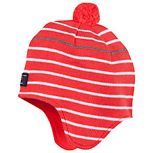 Buy Polarn O. Pyret Children's Striped Merino Bobble Hat Online at johnlewis.com
