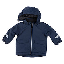 Buy Polarn O. Pyret Baby Lightweight Waterproof Coat, Blue Online at johnlewis.com