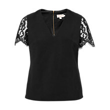 Buy Ted Baker Jessin Lace V-Neck Top Online at johnlewis.com