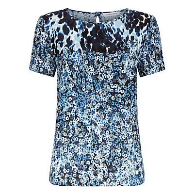 Fenn Wright Manson Animal Flower Cosmic Top, Blue
